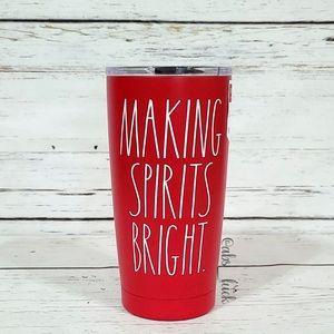 Rae Dunn Making Spirits Bright Tumbler